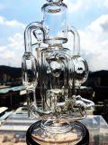 Waterpijp van het Glas van de Percolator van Enjoylife van Hbking de Witte Rokende