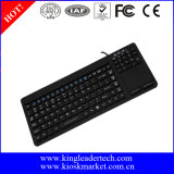 IP68 Waterproof o teclado médico do silicone do Touchpad