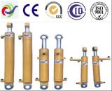 De dubbelwerkende Hydraulische Cilinder van het Project