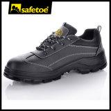 Zapatos de seguridad libre del metal, zapatos de seguridad compuestos del casquillo del dedo del pie para los hombres L-7240