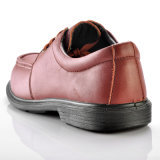 Zapatos de seguridad del trabajo de ingeniería, dedo del pie de acero ejecutivo L-7248 de los zapatos de seguridad