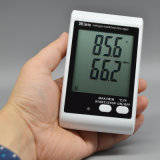 Display LCD Temperatura Recorder umidade Data Logger com sonda