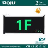 Luz Emergency recargable material ignífuga patentada DJ-01c5 del producto LED con CB