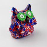 Doos van de Besparing van Piggy van de Bank van de Bank van het Geld van het Hart van de uil de In het groot Ceramische Dierlijke