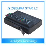 2016 Low新しいCost Zgemma Star LC Satellite Receiver 1080P Linux OS Enigma2 DVB-C One Tuner