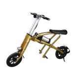 Bicicleta eléctrica plegable de la bici de la batería de litio del adulto 36V E