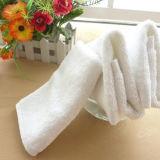 Essuie-main blanc de coton de qualité de 100%