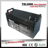 12V120ah Sealed Lead Acid Battery für Solar Stromnetz