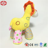 Kids를 위한 서 있는 Lion Lovely Face Stuffed Yellow Plush Toy