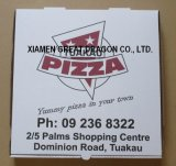Capa triple del rectángulo durable de la pizza de Kraft del papel (PB14126)