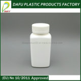 Bottiglia rettangolare di plastica dell'HDPE 190ml