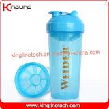 高品質BPAは蛋白質のシェーカーのコップのびんのシェーカーのびんのスマートなシェーカーの適性のびんの体操の水差しの体操のシェーカーの習慣のスポーツのびんカスタム蛋白質のシェーカーを放す