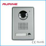 2 de VideoIntercom Van uitstekende kwaliteit van de Kleurencamera van de Klok van de Deur van de Villa van de draad