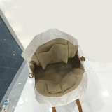 Cinq couleurs ont lavé les sacs d'emballage intérieurs de sac d'épaule de garniture de poche de fente de Papier d'emballage (A083)