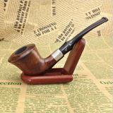 Tubo que fuma de tabaco de 3 colores del tubo del diseño de madera del Coste-Effectivenew