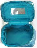 De gewatteerde Toiletry van de Reis van de Polyester Kosmetische Zak van de Verpakking