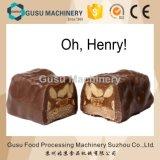 Chocolat de Tpx400 Tpx600 enrobant la barre de céréale d'arachides de casse-croûte formant la ligne