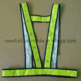 Vest van de Veiligheid van het HOOFD het Opvlammende OEM Hoge Zicht Weerspiegelende