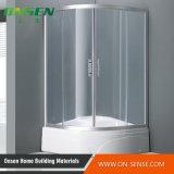 Schermo di acquazzone sanitario di alluminio del Blocco per grafici-Di meno per la stanza da bagno