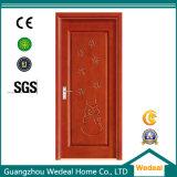 Porte en bois personnalisée de PVC de modèle pour la Chambre avec E1 (WDP5002)