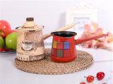 Potenciômetro do café do esmalte da qualidade do dispositivo de cozinha do Kitchenware/de Sunboat