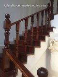 MD escaleras de madera totalmente verdaderas calientes y elegantes de Kahua de Foshan