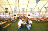 500人は大きい屋外の安い結婚式玄関ひさしによって使用される党テントを防水する