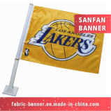 De decoratieve PromotieVlag van het Venster met Vlag Pool