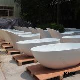 Ушат ванны горячей ванны Desig акриловой каменной Freestanding (V160630)