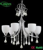 Illuminazione a cristallo del lampadario a bracci di illuminazione dell'interno per la casa/hotel
