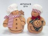 Erweiternlebkuchen-Muttergesellschaft mit Babys, Asst-Weihnachten2 dekoration