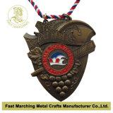 De Medaille van het Metaal van de bevordering voor Herinnering & Sport