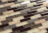Enfriar pavimentación cristalino brillante de estilo antiguo mosaico de cristal