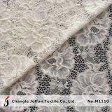 Soft Nylon tela de encaje cordón nupcial mayorista (M1110)