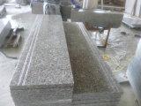 Mattonelle di pavimento Polished rosse della pietra G636 del granito delle mattonelle della pietra del granito di Pangdang Rosa, paracarro, pietra del cubo, pietra del ciottolo
