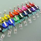 32mm feste und freie Farben-einziehbare Abzeichen-Halter-Bandspule