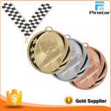 Medalla corriente de la concesión del metal de encargo del oro