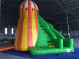 巨大なColorful Inflatable Helter Skelter Bouncer Slide、SaleのためのCheap Inflatable Dry Slide