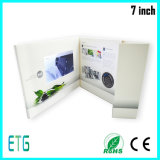 Tarjetas de felicitación calientes superiores del asunto con la pantalla del LCD
