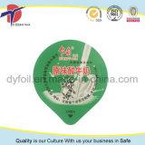 印刷されたアルミホイルのヨーグルトのコップのふた中国製