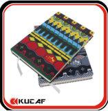 인쇄할 수 있는 직물 덮개 노트북 A5 피복 덮개 노트북 Kcn-0011
