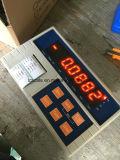 Impresora de la escritura de la etiqueta que pesa el indicador