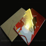 Weihnachten Flashing LED Card Light mit Logo Print (4017)
