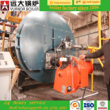 低圧の火管のWnsの石油燃焼のガス燃焼の熱湯ボイラー