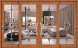 Doppelverglasung-thermisches Bruch-Markisen-Fenster mit abgetöntem Glas