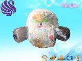처분할 수 있는 아기 기저귀 바지, 연약한 Breathable 기저귀, 중국에 있는 아기 기저귀 바지 공장