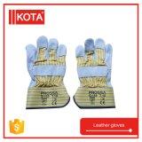 Промышленные перчатки руки работая кожаный перчатки заварки