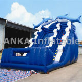 2016 Hot Sale gonflable jumping slide PVC bâche matériel
