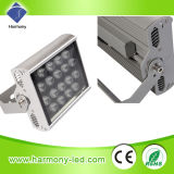 Proyecto-Light Lamp de IP65 Square RGB 18W LED