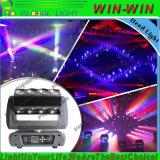 DJ 빛 16 눈 RGBW 4in1 환영 이동하는 맨 위 빛